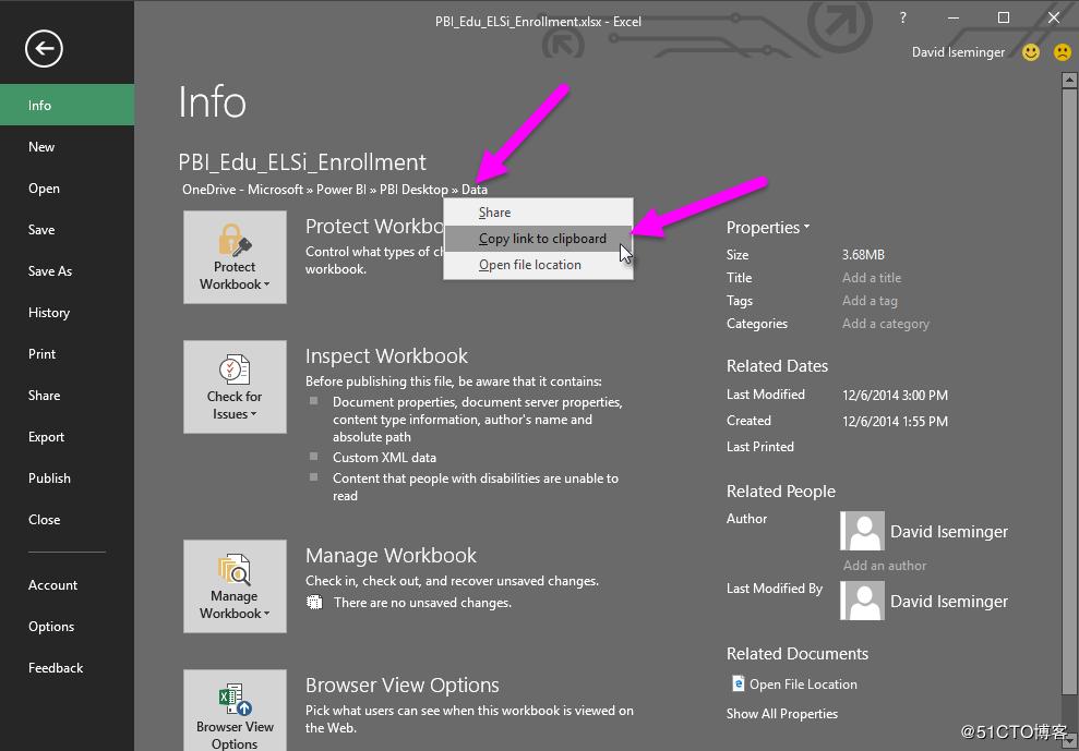 Microsoft Power BI如何连接Onedrive中的数据