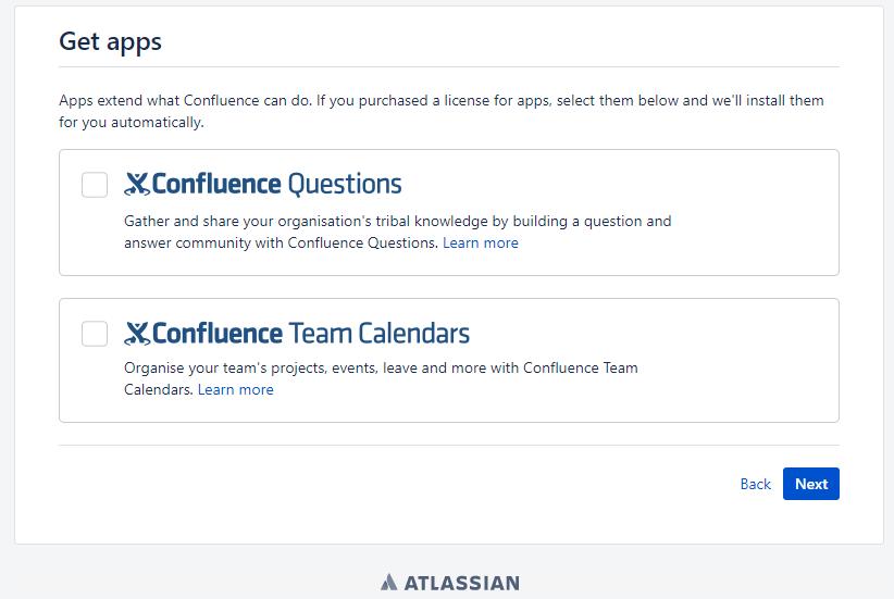 Atlassian Confluence 部署-confluence安装