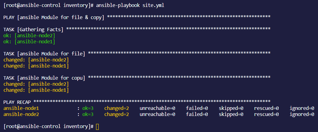Ansible由浅入深 – Module for file&copy