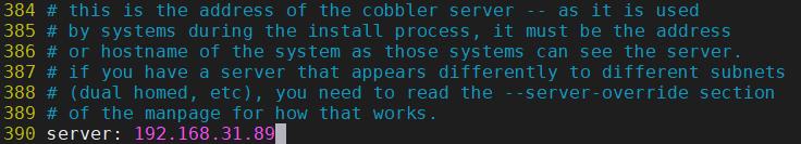 Cobbler自动化部署-Cobbler基础配置三